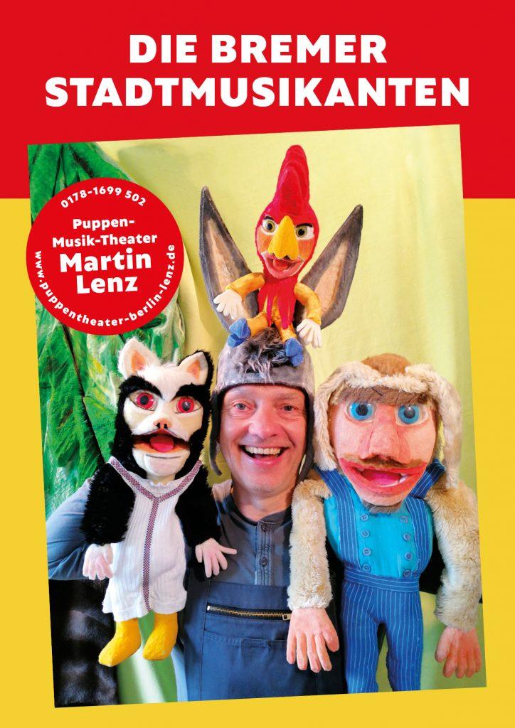 Die Bremer Stadtmusikanten - musikalisches Puppenspiel von Martin Lenz
