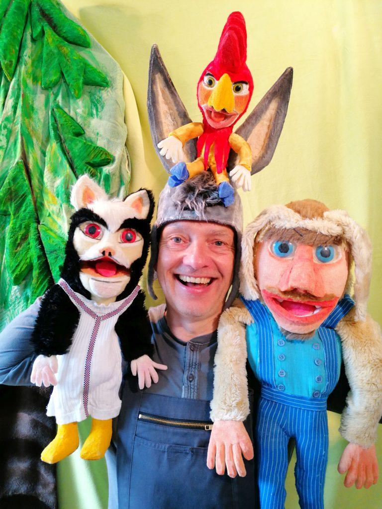 Puppentheater Kindertheater Musiktheater Martin Lenz Berlin